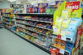 Lochcarron Food Centre has a comprehensive stock of sweets, chocolate and other confectionery