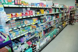 The Spar Shop in Lochcarron has a good stock of toiletries, medicines, cleaning materials etc.