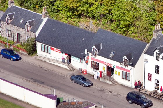 The Lochcarron Food Centre is a well-stocked licensed Spar Shop and filling station situated in the centre of Lochcarron village on the West Coast of the Scottish Highlands.